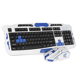 Wireless Keyboard and Mouse Combos Slim 2.4GHz Keyboard 104 Keys with Receiver for Office Gaming Ergonomic 2 Pieces on Sale