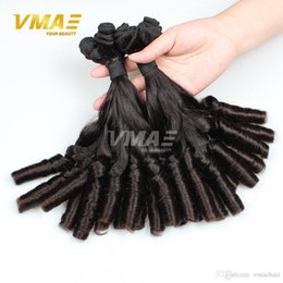 best virgin hair extensions 2019 - Best Brazilian Romance Curls Funmi Hair Unprocessed Aunty Funmi Bouncy Spring curly 3 Pcs Brazilian Virgin Hair Curly hu
