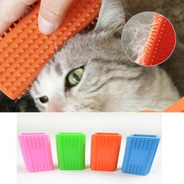 $enCountryForm.capitalKeyWord NZ - Multicolor Professional Silicone Magic Pet Dog Cat Hair Removal Brush Soft Sticky Hair Tool For Puppy Kitten Hair Pets Grooming Supplies