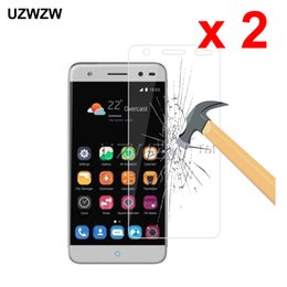 v7 screen NZ - 2pcs For ZTE Blade V7 Lite 2.5D 0.26mm Tempered Glass Protective Glass Film Screen Protector For ZTE Blade V7 Lite