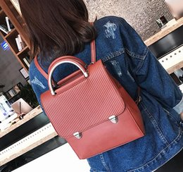 Ladies fashion casual bag. Women s Bags. College style. Leisure bag. PU  backpack. Handbag. Cross Body. Shoulder Bags.Totes. AD340 dcab30875ded4