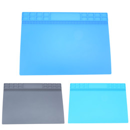 $enCountryForm.capitalKeyWord UK - Silicone Heat Insulation Maintenance Electronic Repair Desk Mat Pad Platform Electronic Repair Tool Mat For Smart Phone Table