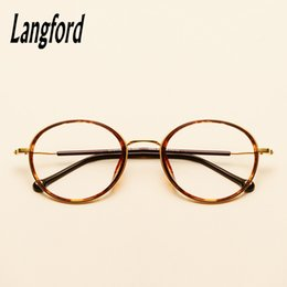 e66952c4cd spectacle frames designs 2019 - langford round glasses frame myopia  eyeglasses vintage full spectacle frames designs