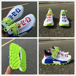 $enCountryForm.capitalKeyWord NZ - 2018 New Human Race Pharrell x Sports Running Shoes Mens Women PW HU Fluorescent Green Blue White Red Fashion Trainers Sneakers Size 36-45