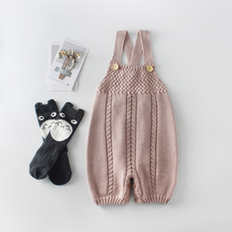 HigH kids clotHes online shopping - baby kids clothing romper knitted cotton romper high quality spring fall Lolita romper