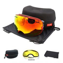 $enCountryForm.capitalKeyWord Canada - Double Layers Ski Goggles UV400 Anti-fog Big Ski Mask Glasses Skiing Snow Snowboard Eyewear Graced Lens Mirror Coating Goggles
