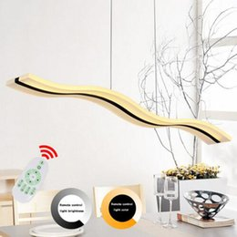 Discount 19 chandelier - Led Lamp Chandelier Modern Acrylic Kitchen Lamparas De Techo Home Lighting For Dining Room AC85-260V Suspension Luminair