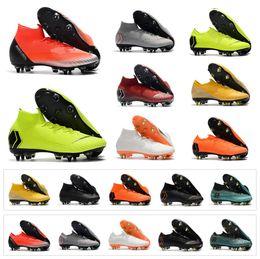 a5664d74c9 Ronaldo Shoes Size Canada - Hot Mercurial Superfly VI Elite SG AC Vapor XII Elite  SG