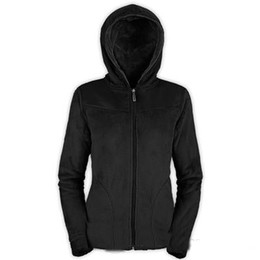Warm Womens Jackets Canada - The New Winter Womens Kid Soft Fleece Hoodies Jackets Fashion Casual Warm Ladies Bomber Jacket Fashion High Quality Hooded Sweater Coat Pink