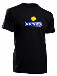 Venta al por mayor de Camiseta ricard camiseta cool fun de S a 4XL