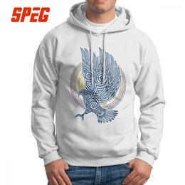 2262029507b57 Knight pullover online shopping - Viking The Celtic Eagle Knight Valhalla Men  Hooded Sweatshirts Fashion Cotton