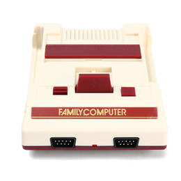 Videos system pal online shopping - Hot sale Classic Family Computer TV Video Game PAL NTSC system Dual Game pad by DHL