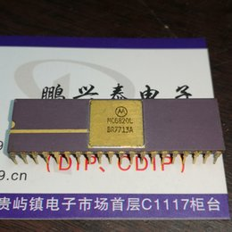 $enCountryForm.capitalKeyWord NZ - MC6820L . vintage chips collection , Gold dual in-line 40 pin dip ceramic package . Electronic Component   CDIP-40, IC