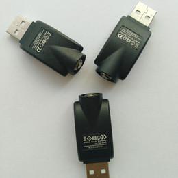 Venta al por mayor de eCig eGo Bolígrafos Vape Batería Cargador USB inalámbrico en forma Cigarrillos electrónicos Vaporizador de cera Cartuchos 510 Hilo Baterías sin botones Vapor de precalentamiento