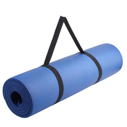a1a449a839 1pcs Portable Yoga Mat Sling Sports Polyester Belt Fitness Gym Adjustable  Carrier Shoulder Carry Strap