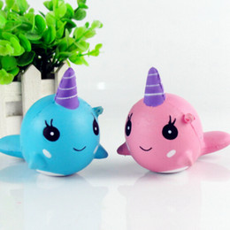 $enCountryForm.capitalKeyWord NZ - Squishy Toys for Kids slow rising squishy Finger Doll Jumbo Squishy Unicorn Whales Toy Stretchy Animal Healing Stress Paste 100pcs stock
