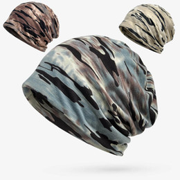 Scarf Shopping NZ - Four Seasons Camouflage Head Hat Magic Scarf Outdoor Shopping Sunscreen Korean Trend Fashion Hat Hiking Riding Windproof Hat