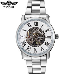 $enCountryForm.capitalKeyWord Australia - WINNER Luxury Men Fashion Mechanical Watches Bracelet Steel Band Mens Skeleton Silver Case Watches Relogio Masculino SLZg21