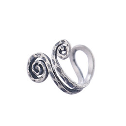 China Smart style nose rings ear clips earrings with non-perforated 925 sterling silver handmade earring nose ring for woman and man suppliers