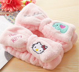 Discount new hello kitty - New Hello Kitty Wash Face Makeup Beauty Exercise Hair Cap yey-05