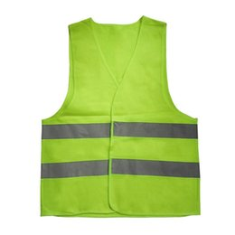 Outdoor Safety Vest Reflective Belt High Visibility Adjustable Unisex Running Cycling Bike Sports Construction Traffic Clothes Wide Varieties Sports Accessories