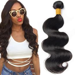 $enCountryForm.capitalKeyWord UK - Brazilian Virgin Human Hair Body Weave 3 Bundles 7A Grade 100% Unprocessed Hair Extensions Remy Human Hair Natural Color