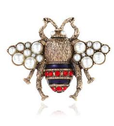Women Costume Jewelry UK - Hot Crystal Rhinestone Letter Brooch Pin Hollow Corsage Brooches Women Fashion Jewelry Costume Decoration 1475