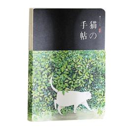 $enCountryForm.capitalKeyWord UK - New Blank Vintage Sketchbook Diary Drawing Painting 80 sheet Cute Cat Notebook Office School Supplies Gift