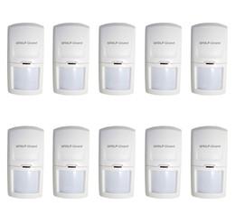 $enCountryForm.capitalKeyWord Australia - Wolf-Guard Wireless PIR Motion Sensor Detector for Home Security Alarm System 3G GSM Alarm Panel HW-03D