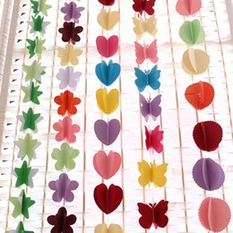 Pack Supplies Australia - 3m Length Tissue Paper Heart Stars Flowers Wedding Decoration Flower Decorations Birthdays Party Decorations Event Gift Pack