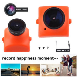 Network cameras online shopping - 2017 Popular Hot Camera Surveillance Micro Cam Orange Network Monitor Vision Wide angle HD
