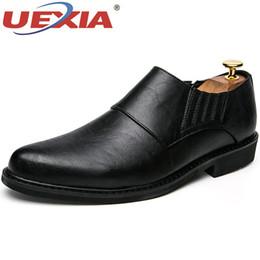 men mocassins shoes 2019 - UEXIA Mens Dress Italian Leather Shoes Luxury Brand Formal Male Shoes Glitter Business Men Mocassins Wedding Dress Forma