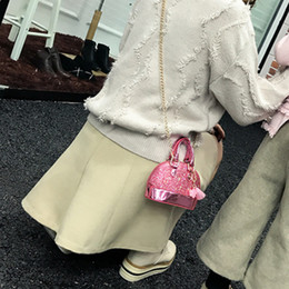 Discount cross bags for girls - HCH-Little Girls' Sequins Handbags Princess Crossbody Bag Mini Satchel Gifts For Girls Toddler Kids (Pink)