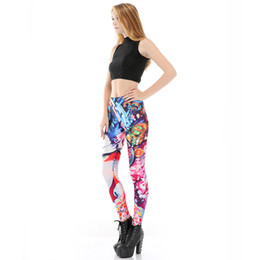 Plus size gothic leggings online shopping - New The Latest Gothic Girl Printed Leggings Fashion Novel and Simple Hot Pants Flexible Graffiti Trousers High Quality Plus Size XL Women