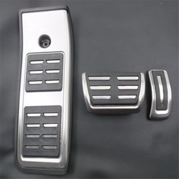 $enCountryForm.capitalKeyWord NZ - Auto Accessories Aluminium car pedals For Audi A4 B9 2016 2017 Gas Brakes Foot Pedal Accelerator pedal Car Styling Accessories