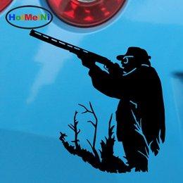 Оптовая Виниловые Наклейки Мода Автомобиль Наклейки Стекло Царапины Стены Высечки Бампер Грузовик Аксессуары Jdm Люди Монтируется Охотник Охота