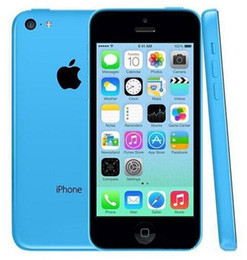Wholesale iphone 5c camera resale online - Original Refurbished Unlocked Apple iPhone C Cell phones GB GB dual core WCDMA WiFi GPS MP Camera quot Smartphone