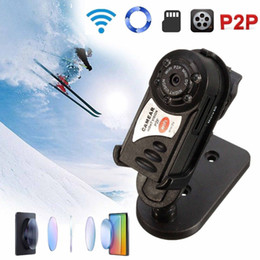 Infrared Day Night NZ - Q7 Wireless WiFi IP Camera Infrared Real-time Mini DVR Night Vision Camcorder Video Recorder Support TF Card 32GB