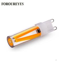 $enCountryForm.capitalKeyWord Australia - On Sale G9 LED Bulb 110V 220V 2W 4W Filament COB lamp Replace 30W 40W Halogen Light for Chandelier free shipping
