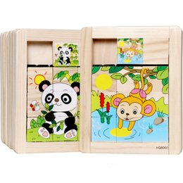 New toys low prices online shopping - 2018 New Wooden Puzzle Toys Baby Educational Training Toy Kids Gift Animal Puzzle For Infant Baby Lowest Price For freeshipping