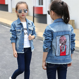 $enCountryForm.capitalKeyWord Canada - 3-12 y children girls jackets fashion sequins jean jacket for teenage girl spring 2019 kids clothes long sleeve denim coats