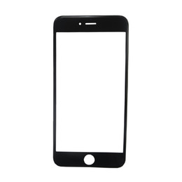iphone bezel Australia - High Quality 3 in 1 Pre-Assembled LCD Screen Glass With OCA Film Installed + Bezel Frame Cold Press For iPhone 6S Plus