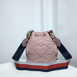 Marmont Drawstring bags Fashion woman classic handbag Designer Bucket bags  Size 20 24 14 cm 2 color model 279379969 efa84a883bd85