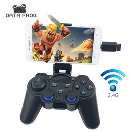 game android joystick vr box 2019 - Joystick for Android Smartphone 2.4G Wireless Gamepad for PS3 Game Controller Xiaomi TV BOX VR BOX Joysticks PC Mac disc