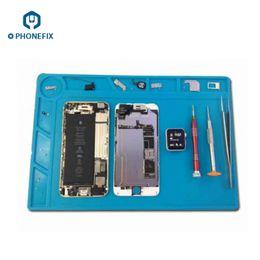 Static work online shopping - FIXPHONE Mobile Phone Repair Anti Static Mat High Temperature Work Pad Repair Platform For iPhone iPad Samsung Xiaomi