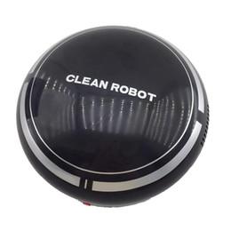 Venta al por mayor de Aspirador Robot Inteligente Automático Recargable Automático USB Barrido de Succión Hogar Inteligente Futural Digital JULL12