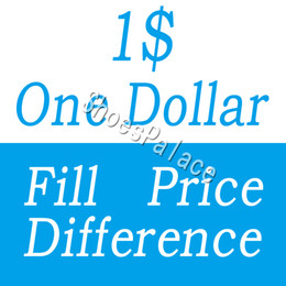 One Dollar Fill Price Difference payment for DHL EMS different extra cost diferent shipping fee etc on Sale