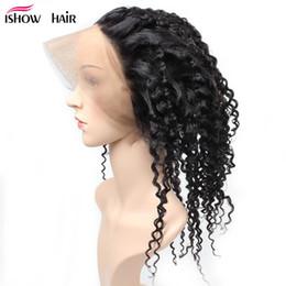 $enCountryForm.capitalKeyWord Australia - 2018 New Arrival Brazilian Virgin Hair Kinky Curly 360 Frontal Lace Closure Free Part Hot Selling Peruvian Indian Human Virgin Hair Weaves