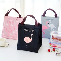 bottle tote bags NZ - Thermal Insulation Baby Milk Bottle Aluminum Foil Keep Warm Bag Flamingo Woman Portable  Breast Warmer Beach Tote MMB-002