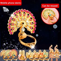 Discount finger holders - Universal 360 Degree Rotation Diamond Bling Phone stand holder metal For iPhone 7 8 X Samsung Finger Ring Holder Stand